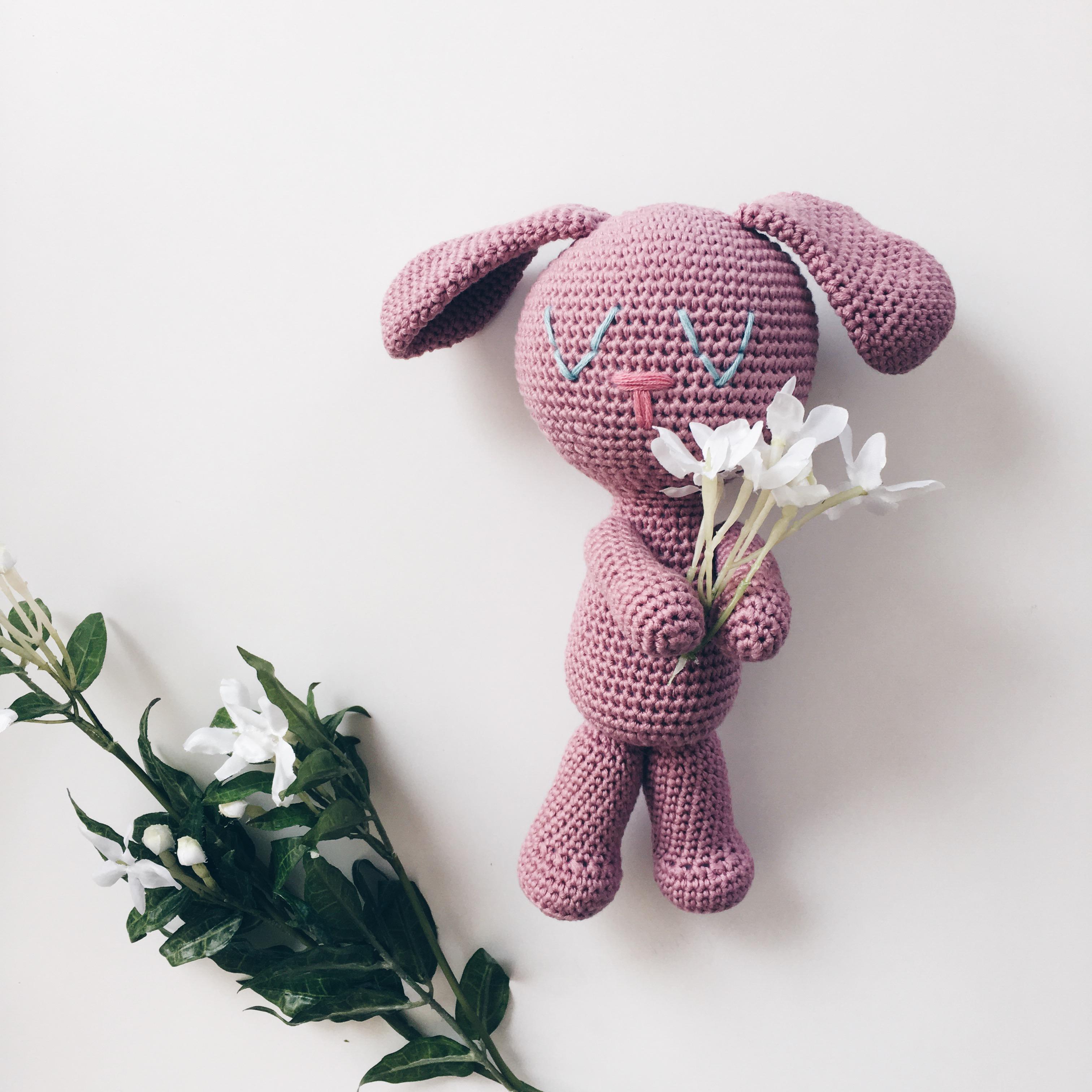 Patrón conejo dormilón – Knitting is cool