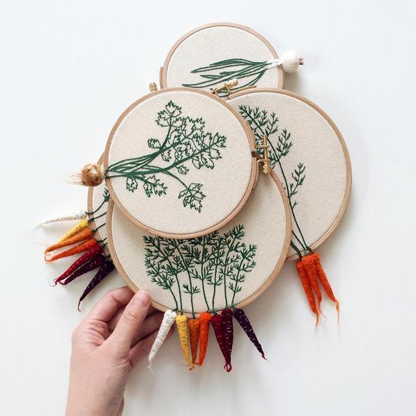 El nuevo arte del bordado knitting is cool