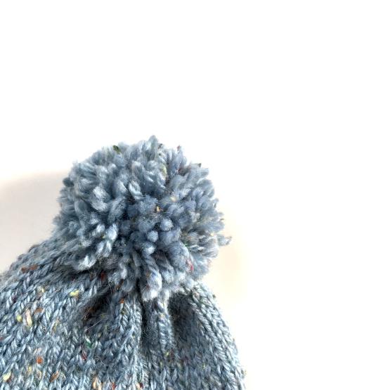 Pompón para gorro de lana para bebé
