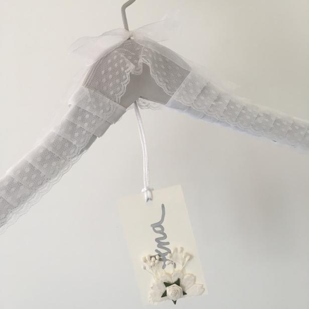 Percha novia para vestido