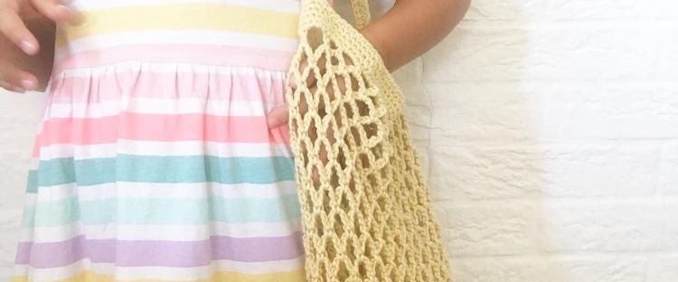 Patrón para tejer un bolso de red – Knitting is cool
